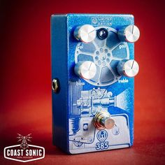 Walrus Audio Harvester High Gain Overdrive guitar effects pedal, new, free USA shipping. Coast Sonic Pedal Providers