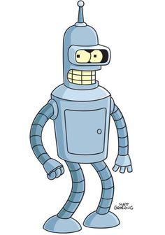 Bender.  Futurama