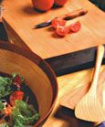 A summary of non-toxic finishing products ideal for cutting boards, salad bowls, and other food-centric woodwork