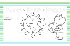 {Free Printable} Earth Day Place Mats - Kids Activities Blog