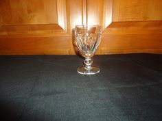 Vintage Late 1960's Waterford Crystal Kathleen Claret Wine.  8 Available #Waterford