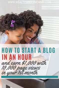 How to make money from blogging. Learn how to start a blog in under an hour and hit 10k page views per month while making $1,000. How to start a blog and make money. How to start a blog tips. Monetize your blog.