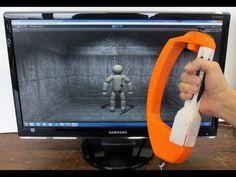 GDC 2013: Tactical Haptics Reactive Grip Razer Hydra Prototype