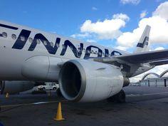 Finnair Airbus A319 in Helsinki