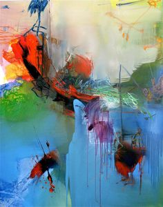 "Painting by Gerard Stricher. ""To be aware of limitations is already to be beyond them"" - Georg Wilhelm Friedrich Hegel Art Beauté, Modern Art, Contemporary Art, Wow Art, Art Abstrait, Art Plastique, Oeuvre D'art, Painting Inspiration, Amazing Art"
