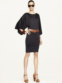Ralph Lauren - Black Label - Sonia Dolman - Sleeve Dress $498