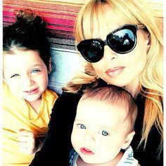 Rachel Zoe With Skyler and Kaius