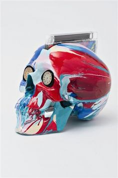 Damien Hirst, The Hours Spin Skull