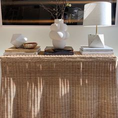 Made of handwoven wicker with a scalloped bottom to create a draped appearance. Dimensions: W x D x H D Top) Material: Rattan Mainly Baskets Rattan, Wicker, Ceramic Light, Light Fixtures, Console, Jade, Hand Weaving, Basket, Rooms