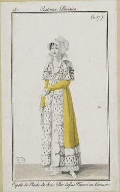 European Fashion, Victorian Fashion, Vintage Fashion, Regency Dress, Regency Era, Vintage Girls, Vintage Outfits, 18th Century Fashion, Empire Style