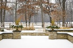 Love the bones of a garden. It is a great yard that looks good in the winter also.