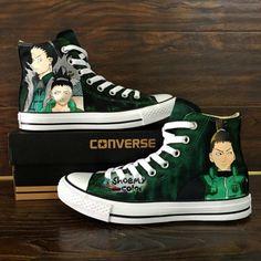 7cf16b9a957f Naruto Chuck Taylor Hand Painting Shoes Naruto Gaara Sneaker Con ...