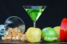 The Slow Roasted Italian: Caramel Apple Martini
