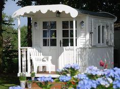 Shabby chic caravan, gypsy wagon, gypsy caravan, little cottages