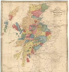 View: Map of the Highlands of Scotland denoting the dist... - Maps of Scotland, 1560-1928 - National Library of Scotland