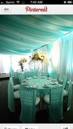 TIFFANY BLUE WEDDING THEMES  | via brooke wininger