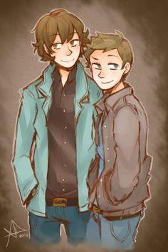 Winchester Bros by *Life-Writer on deviantART Supernatural
