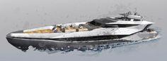 Design Unlimited unveils details of project Vora - New Designs - SuperyachtTimes.com