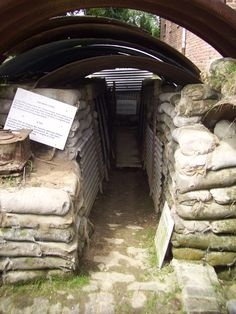 #WW1 #Trenches