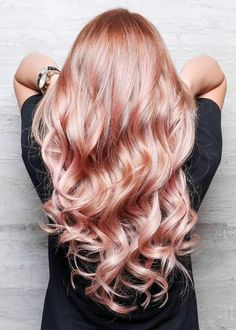 HAPPY ADORNING — Rose Gold Hair Envy