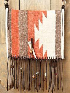 Totem Saddle Blanket Bag at Free People Clothing Boutique - StyleSays
