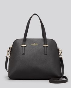 Kate Spade, Cedar Street Maise Satchel in Cream, $300 via Bloomingdales