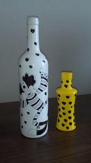 Gostei, postei!: Reutilizando garrafas