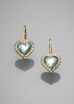 ideeli | BETSEY JOHNSON Sweetheart Earrings