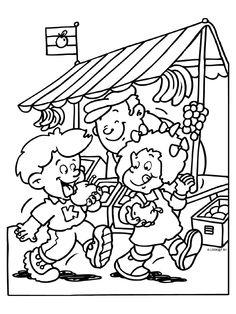 Kleurplaten Uit Kinderboeken Bilder Zum Ausmahlen Aus
