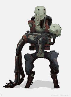 ArtStation - Robots/Synths, Edward Delandre