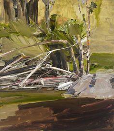 Contemporary Australian Artists, Contemporary Landscape, Abstract Landscape, Landscape Paintings, Tree Paintings, Abstract Art, Surealism Art, A Level Art, Figurative Art