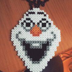Olaf hama beads by arantxagrau