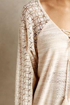 Needlework Peasant Top #anthrofave