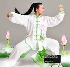 tai chi outfit for women   Tai chi uniform kung fu wushu clothing set martial arts clothes ...
