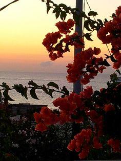 Al tramonto Stromboli Italy