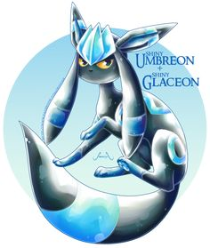 Pokémon Fusion: Umbreon X Glaceon Pokemon Mix, Pokemon Fusion Art, Mega Pokemon, Pokemon Comics, Pokemon Fan Art, Cute Pokemon, Pokemon Cards, Pokemon Eeveelutions, Eevee Evolutions