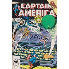 CAPTAIN AMERICA #314 | 1968-2011 | VOLUME 1 | MARVEL | $3.60 | Comic Books