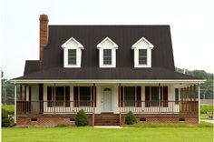 Best Burnished Slate Metal Roof Houses Barns Home Metal 400 x 300