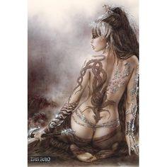Luis Royo Submersive Beauty POSTER sexy tattoo fantasy