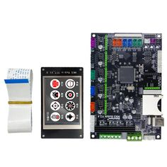MAKERBASE MKS Robin integrated circuit mainboard Robin controller mother board with TFT display closed source software - Jeck Store Software Sales, Best 3d Printer, 3d Printer Filament, Sd Card, Phone Holder, Circuit, Robin, 3d Printing, Display