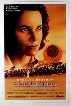 #787. A World Apart, March, 2016. A White enclave in Johannesburg, South Africa, in the 1960s. Molly Roth, 13 years old, is the daughter of leftist parents, and she must piece together what's happening around her when her father disappears one night, barely evading arrest, and, not long after, her mother is detained by the authorities. Some of Molly's White friends turn against her, and her family's friendships with Blacks take on new meaning.