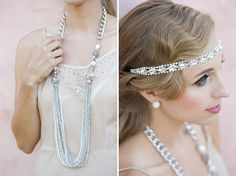 Modern accessories with an authentic look for 1920s - A Great Gatsby Wedding