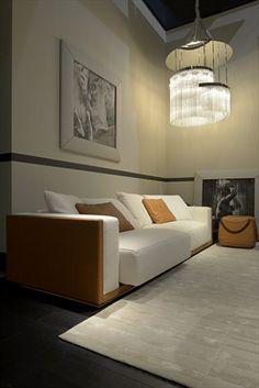 Fendi Casa, FF CASA Freedom 4 seater sofa and Cat ottoman