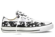 2758a692e257 Black And White Converse American Flag Chuck Taylor All Star Low Tops  Canvas Shoes  converse
