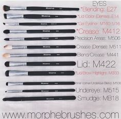 Need to try Morphe brushes.