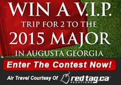 Canadians can win a V. Trip to Augusta for the 2015 Masters! Canadian Contests, Contests Canada, 2015 Masters, Masters Tournament, Augusta Georgia, Golf Shop, Sugar Angel, Golf Courses, Coke