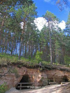 Piusa Caves, Põlva County, Estonia, Europe