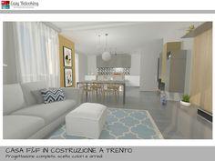 open space cucina soggiorno con | living | Pinterest | Spaces