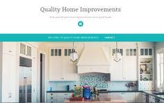 Simple Website Design, Home Improvement, Wordpress, Web Design, Kitchen Cabinets, Home Decor, Design Web, Decoration Home, Room Decor
