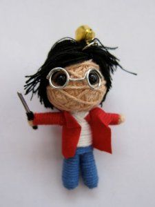 Amazon.com: Little Wizard Harry Potter Voodoo String Doll Keychain: Everything Else